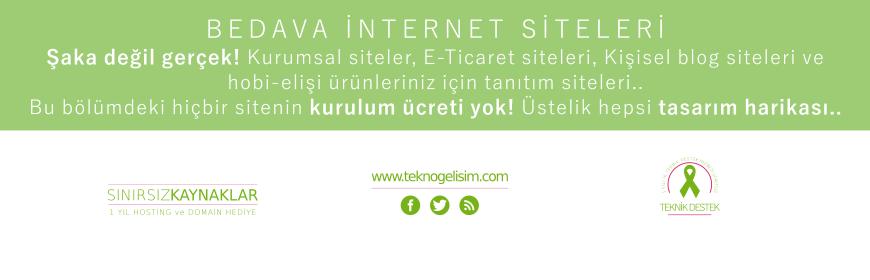 Ücretsiz Siteler (YENİ!)