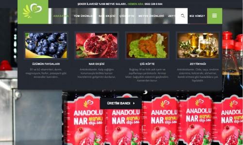 Anadolu Gıda Pazarı E-Ticaret Sitesi