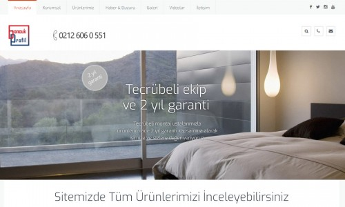 Boncuk Profil İnternet Sitesi