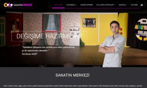 Cobo Tasarım Sanat Merkezi Web Site Projesi