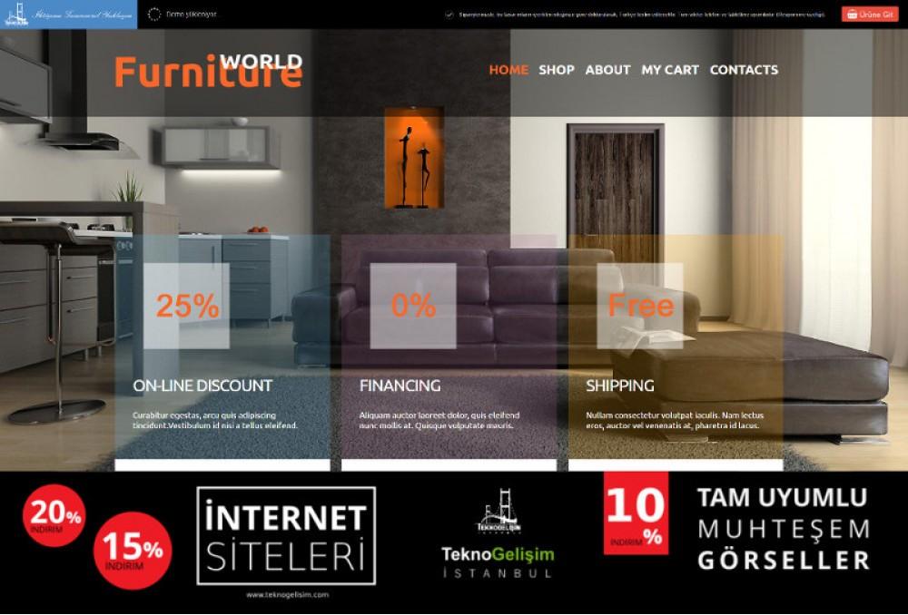 Ürünlü Estetik Tasarım 01 - Model Site