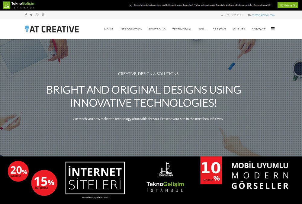Standart Site Tasarım 06