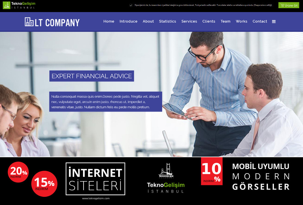 Standart Site Tasarım 11