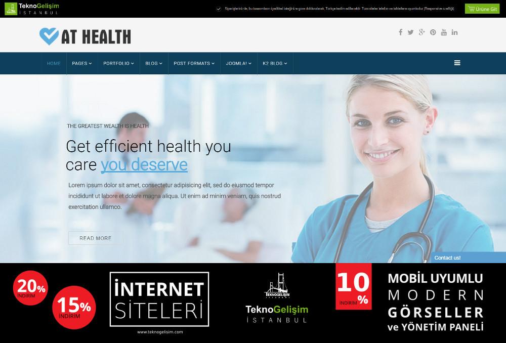 Model Site İş Hayatı Tasarım 10