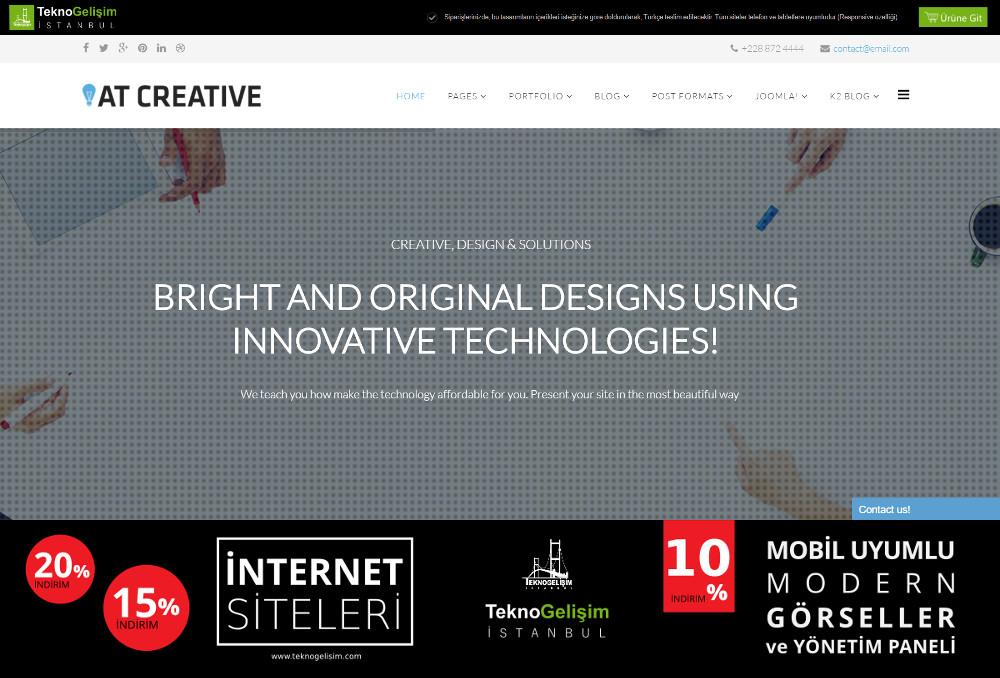 Model Site İş Hayatı Tasarım 05