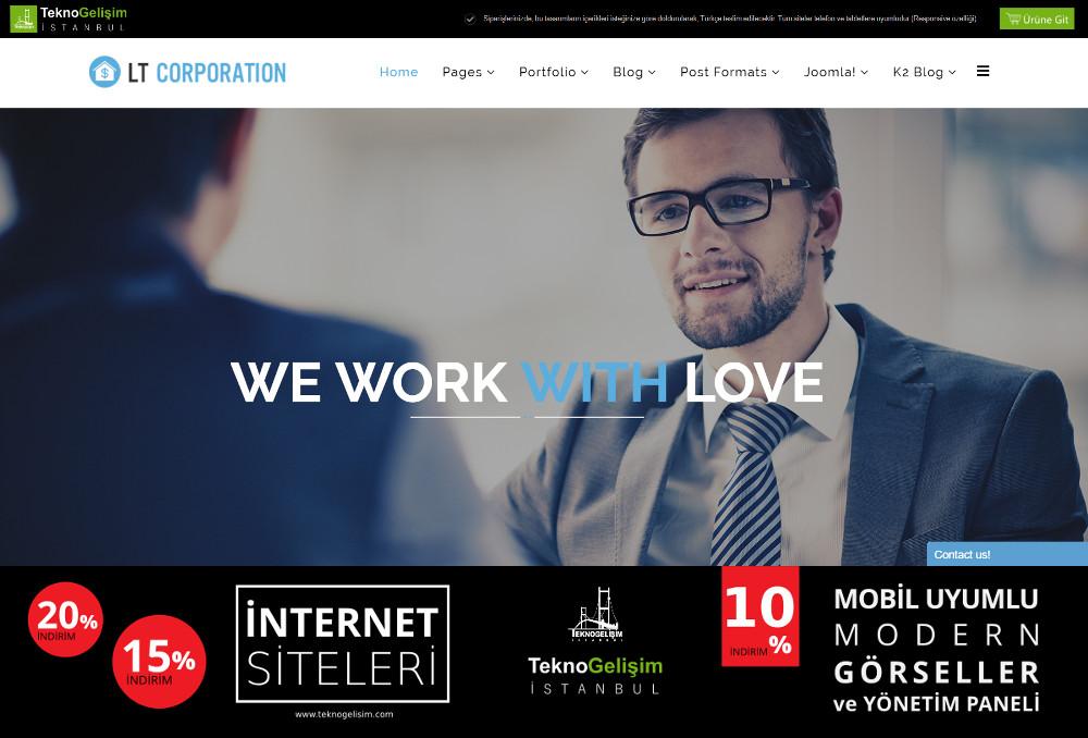 Model Site İş Hayatı Tasarım 13