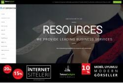Standart Site Tasarım 44 (Yan Menülü)