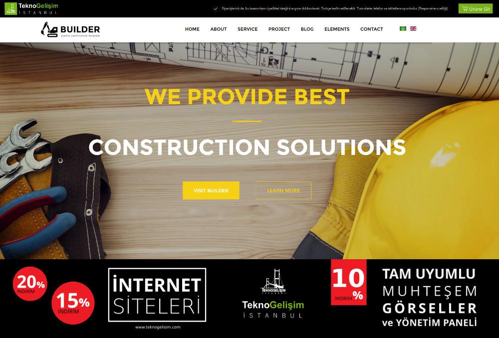Kurumsal Site Sektöre Özel Tasarım 10