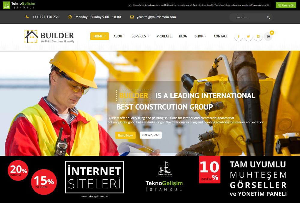 Kurumsal Site Sektöre Özel Tasarım 11