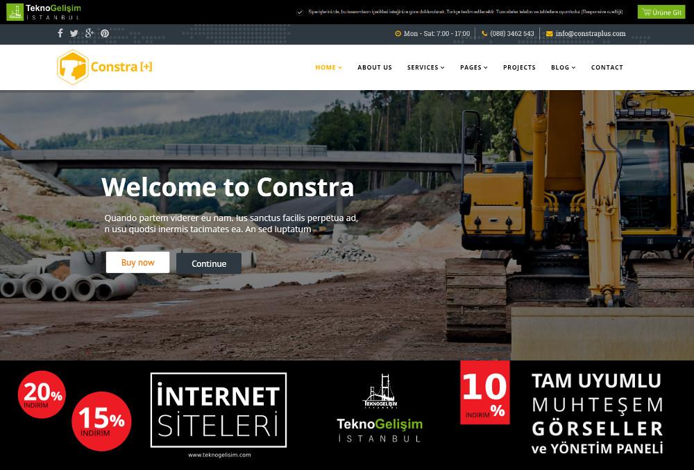 Kurumsal Site Sektöre Özel Tasarım 17