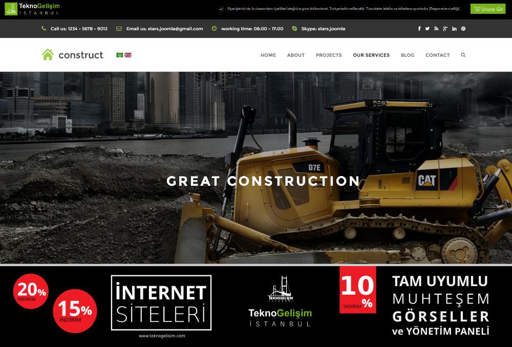 Kurumsal Site Sektöre Özel Tasarım 19