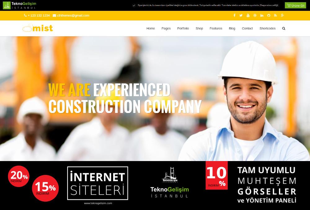 Kurumsal Site Sektöre Özel Tasarım 21