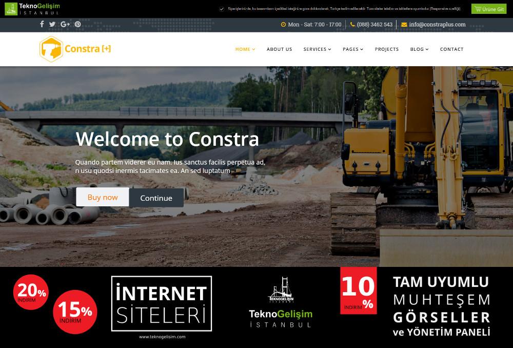 Kurumsal Site Sektöre Özel Tasarım 26