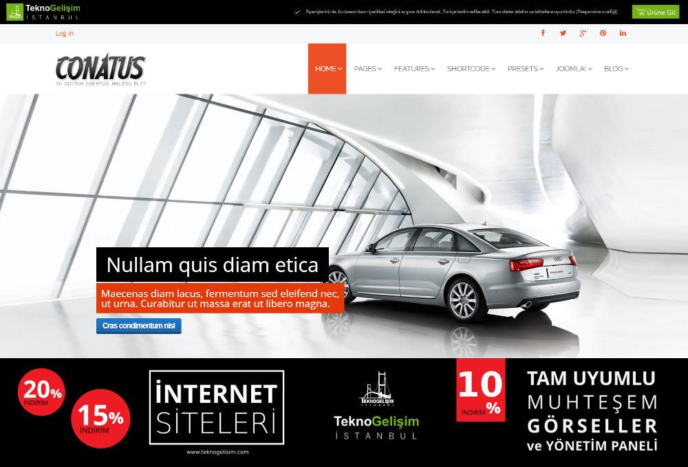 Kurumsal Site Sektöre Özel Tasarım 30