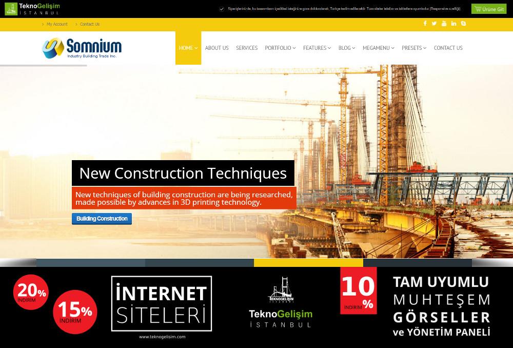 Kurumsal Site Sektöre Özel Tasarım 32