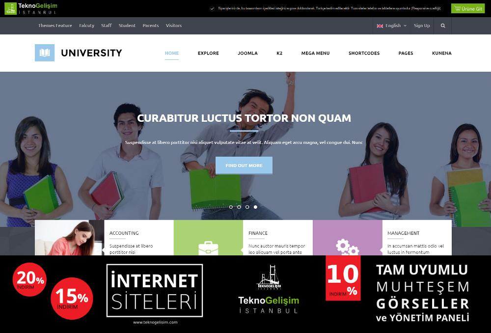 Kurumsal Site Sektöre Özel Tasarım 33