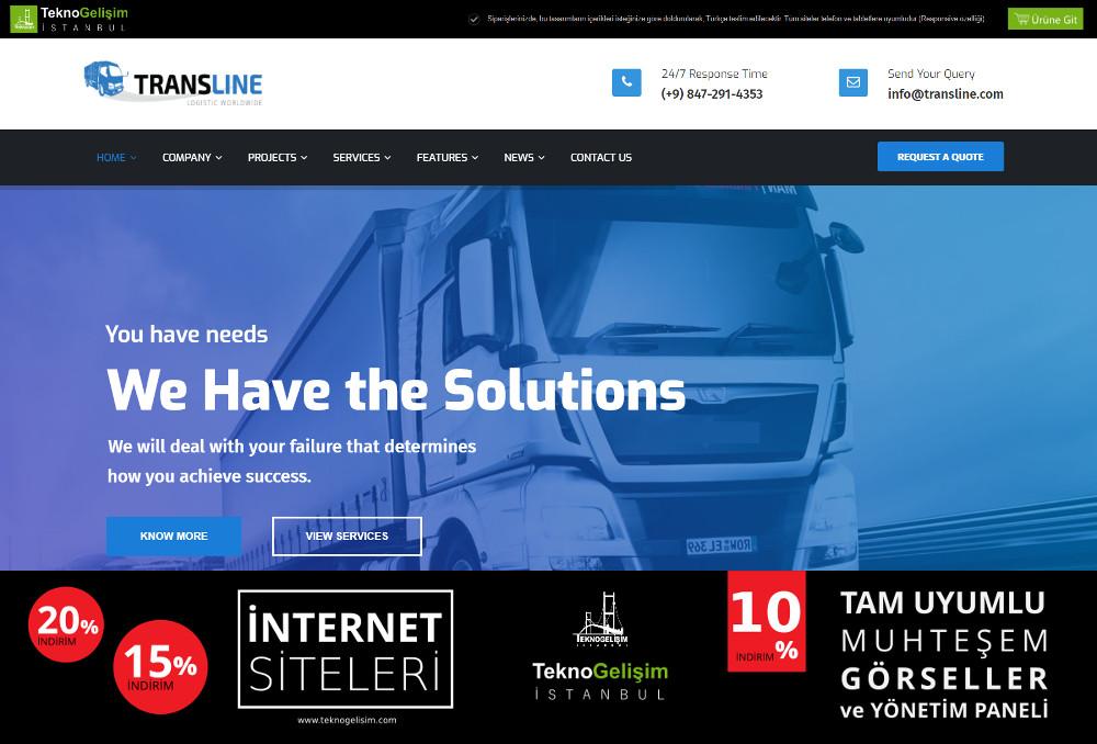 Kurumsal Site Sektöre Özel Tasarım 40