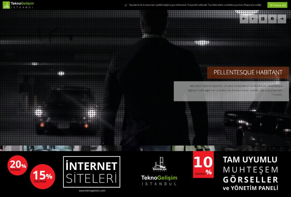 Kurumsal Site Estetik Tasarım 15 (Video Versiyon)