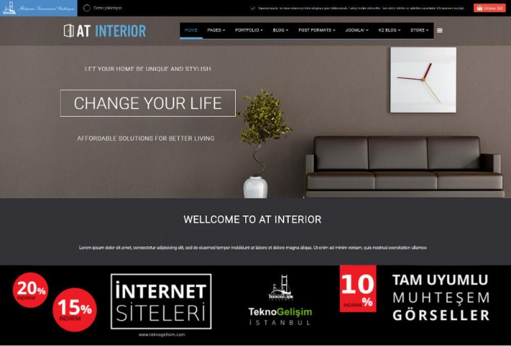 Ürünlü Estetik Tasarım 02 - Model Site