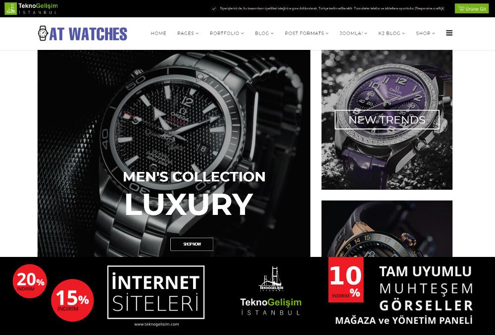 Ürün Tanıtımlı Site Sektöre Özel Tasarım 17