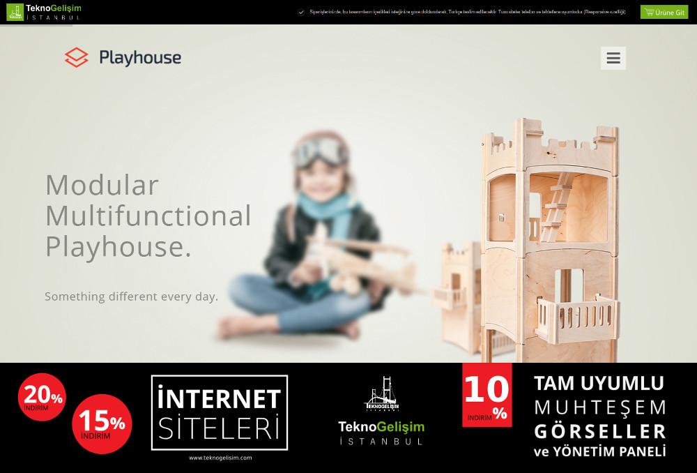 Ürünlü Estetik Tasarım 08 - Model Site