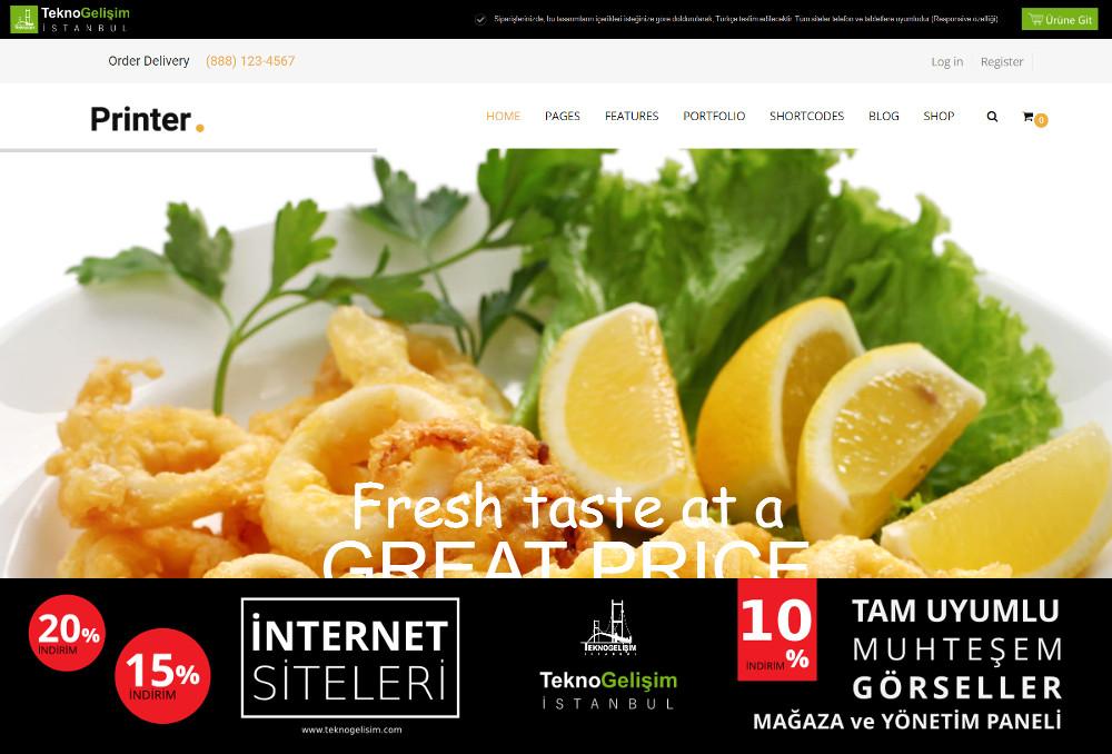 Ürün Tanıtımlı Site Sektöre Özel Tasarım 20