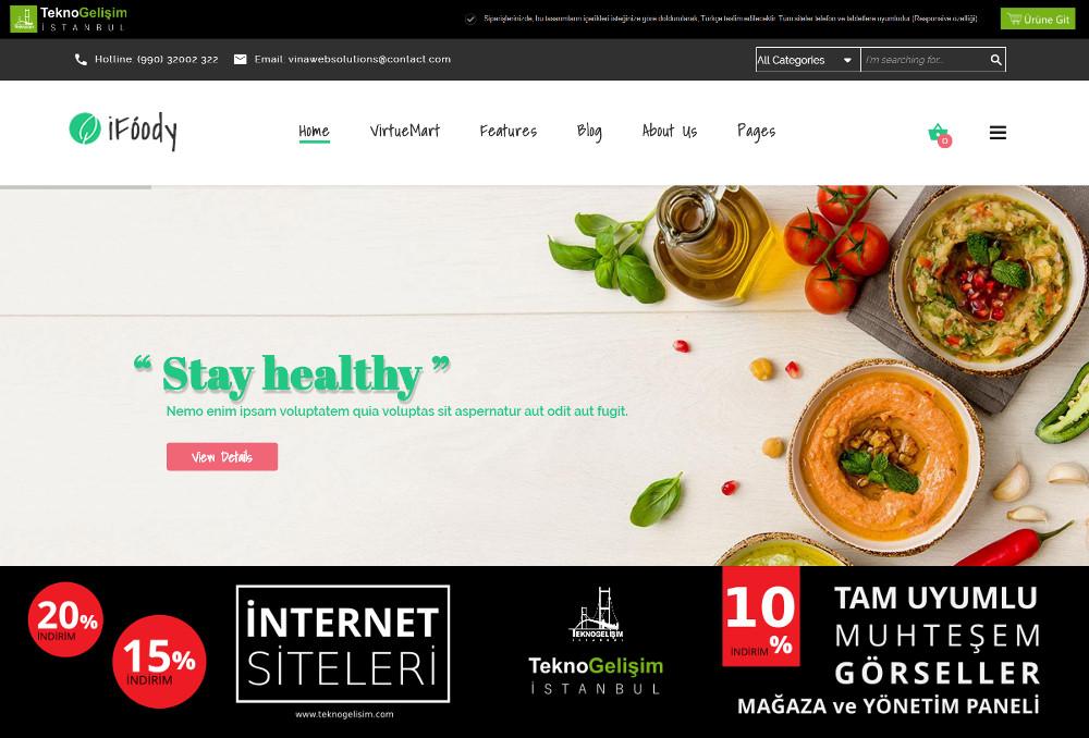 Ürün Tanıtımlı Site Estetik Tasarım 11