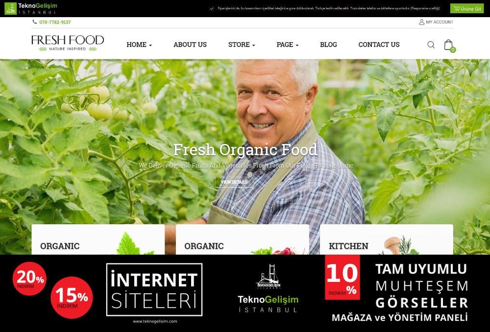 Ürün Tanıtımlı Site Sektöre Özel Tasarım 21
