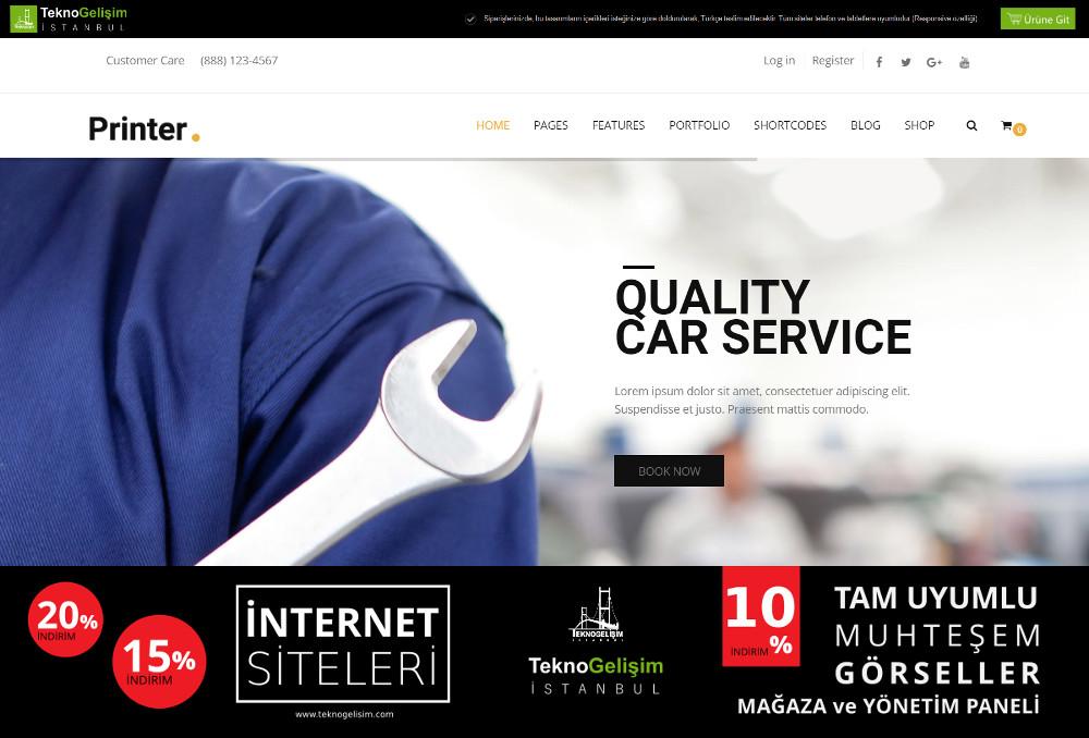 Ürün Tanıtımlı Site Sektöre Özel Tasarım 29