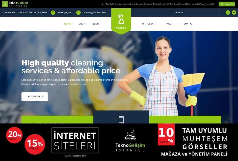 Ürün Tanıtımlı Site Sektöre Özel Tasarım 32