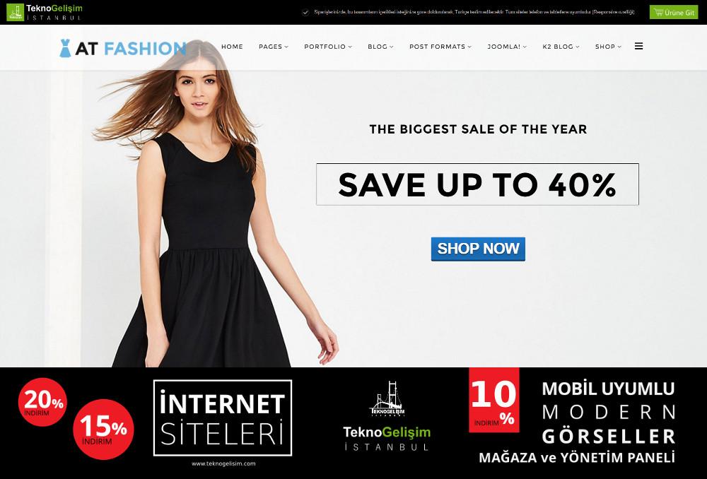 Ürünlü Estetik Tasarım 23 - Model Site