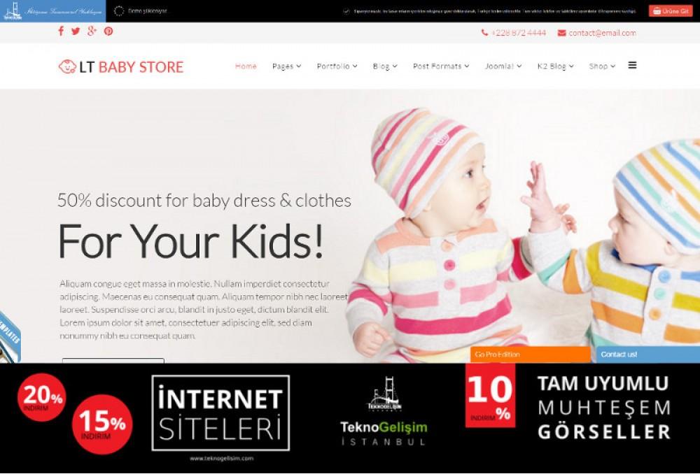 Ürünlü Sektöre Özel Tasarım 41 - Model Site