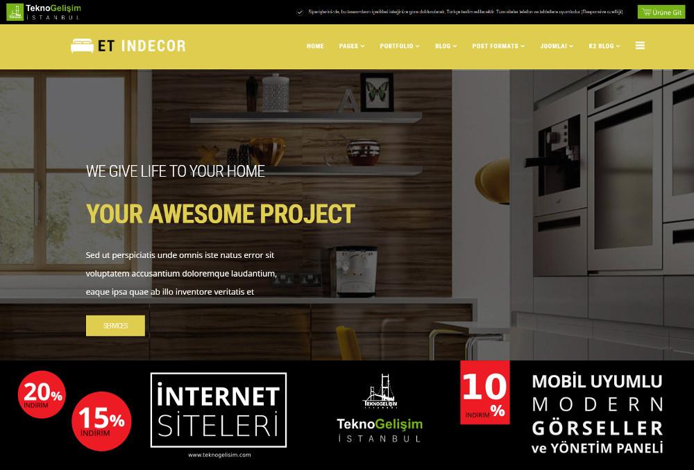 Model Site Estetik Tasarım 10