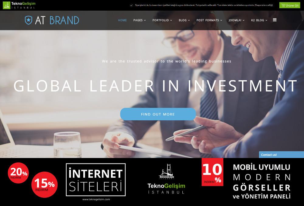 Model Site İş Hayatı Tasarım 17