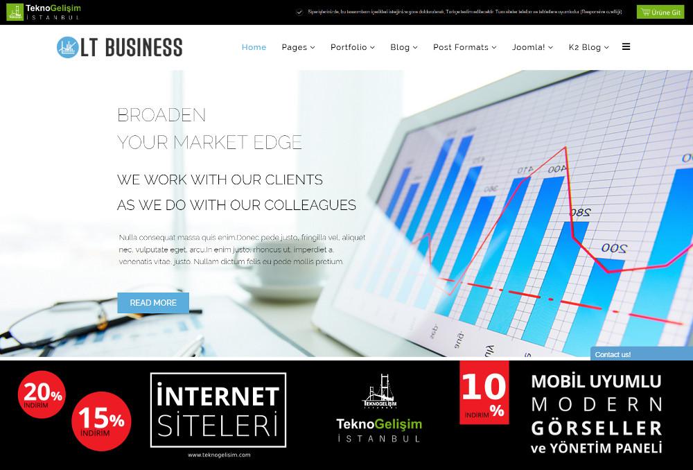 Model Site İş Hayatı Tasarım 18
