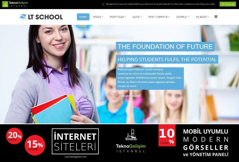 Model Site İş Hayatı Tasarım 22