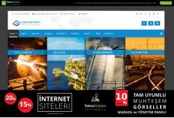 Ürünlü Sektöre Özel Tasarım 52 - Kurumsal Site (Tam Tanıtım Görünümlü)