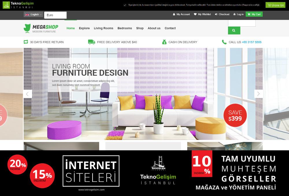 Ürünlü Estetik Tasarım 28 - Kurumsal Site