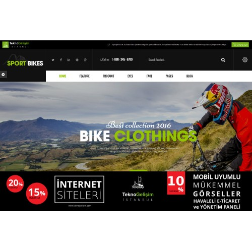 E-Ticaret Sitesi Estetik Tasarım 03