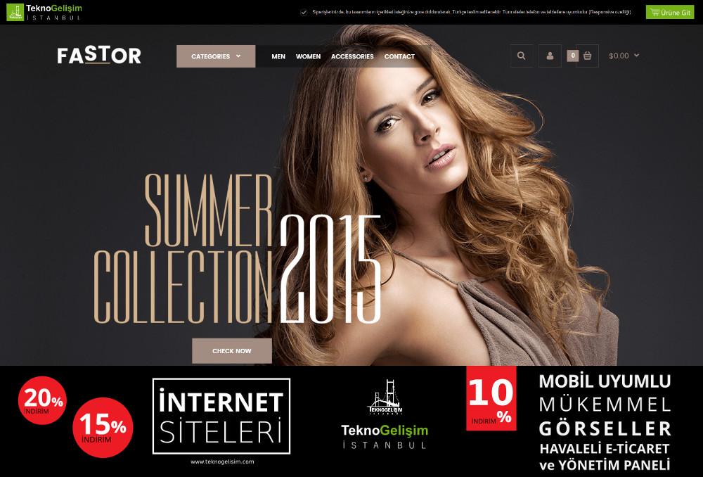E-Ticaret Sitesi Estetik Tasarım 04