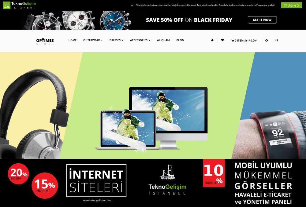 E-Ticaret Sitesi Estetik Tasarım 05