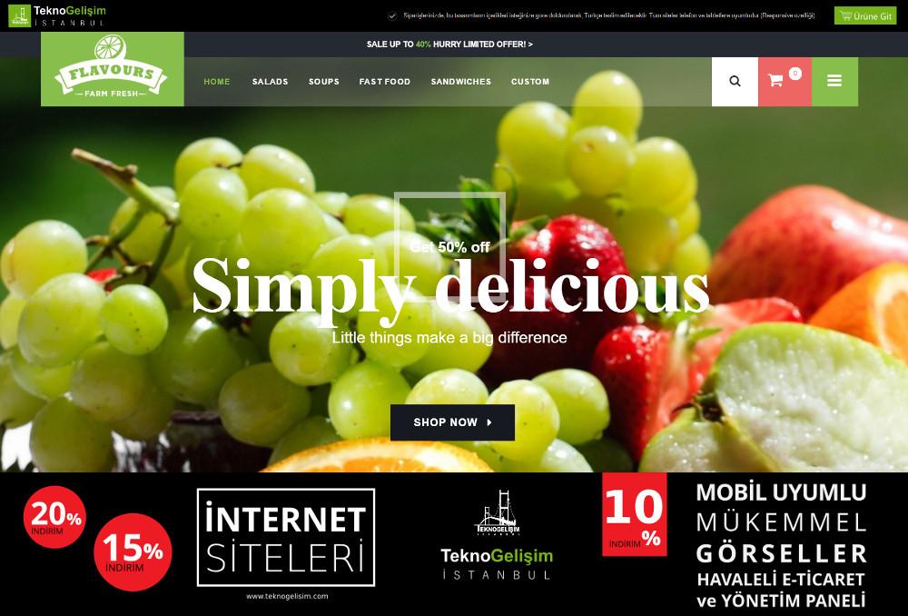 E-Ticaret Sitesi Estetik Tasarım 12