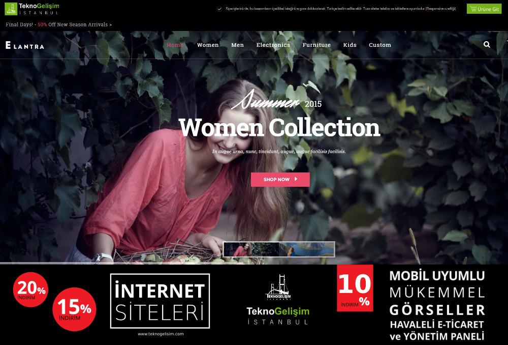 E-Ticaret Sitesi Estetik Tasarım 14