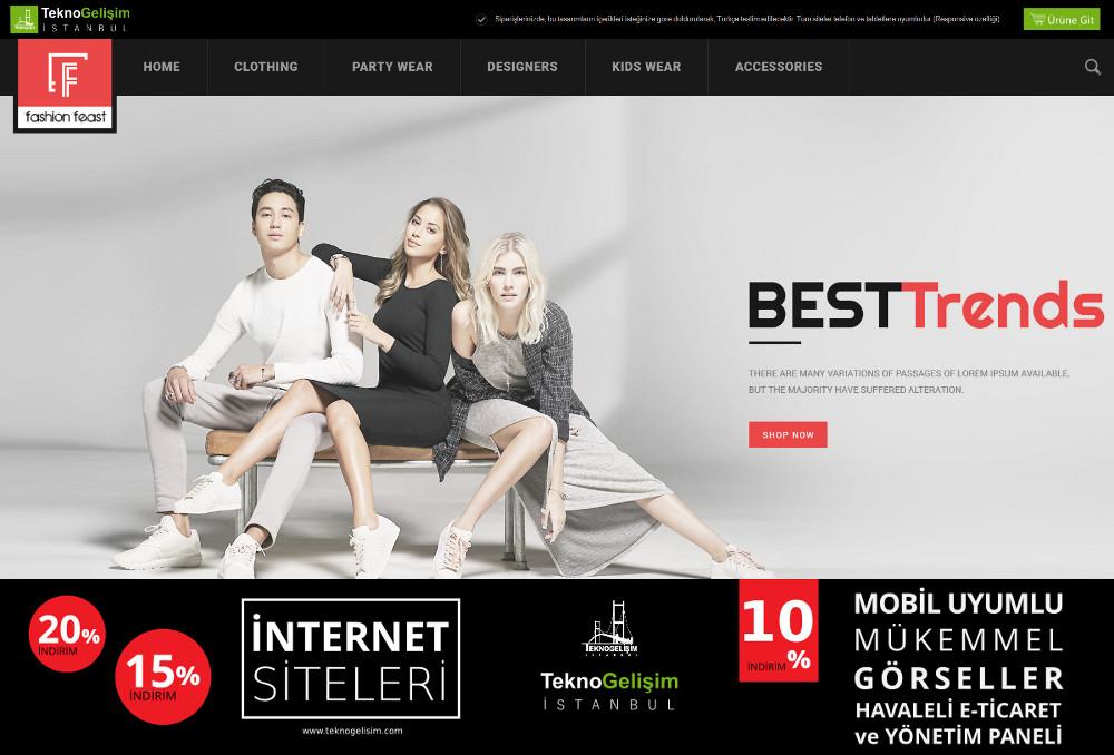 E-Ticaret Sitesi Estetik Tasarım 17