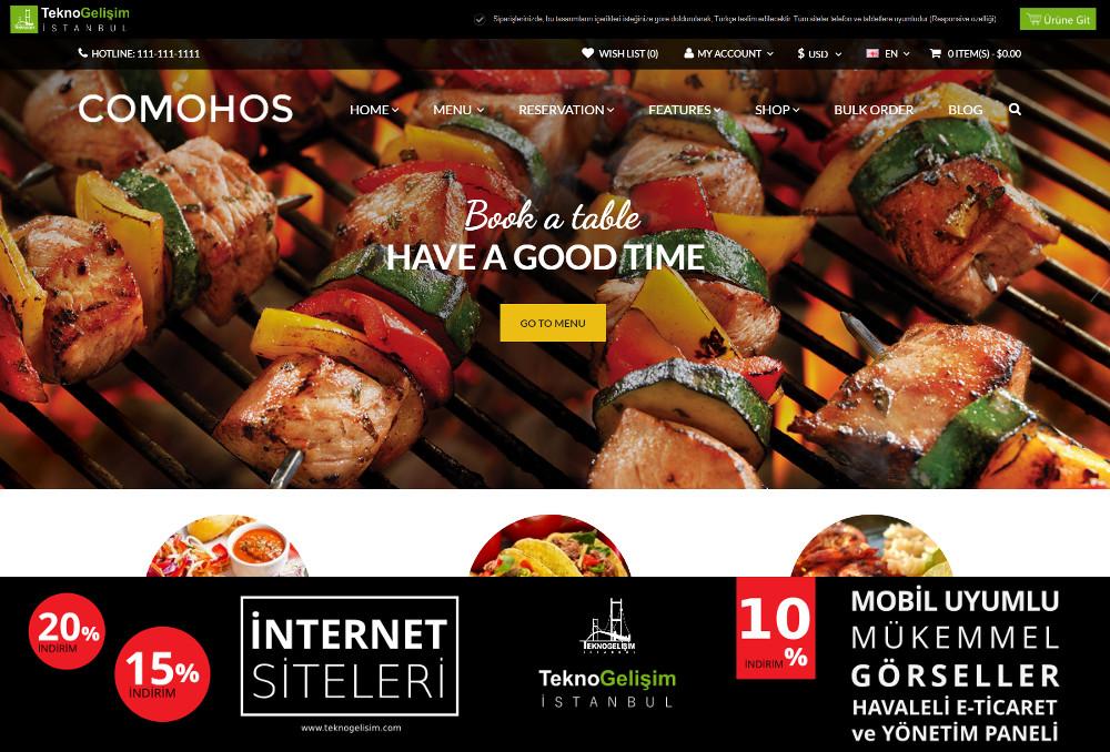 E-Ticaret Sitesi Sektöre Özel Tasarım 11