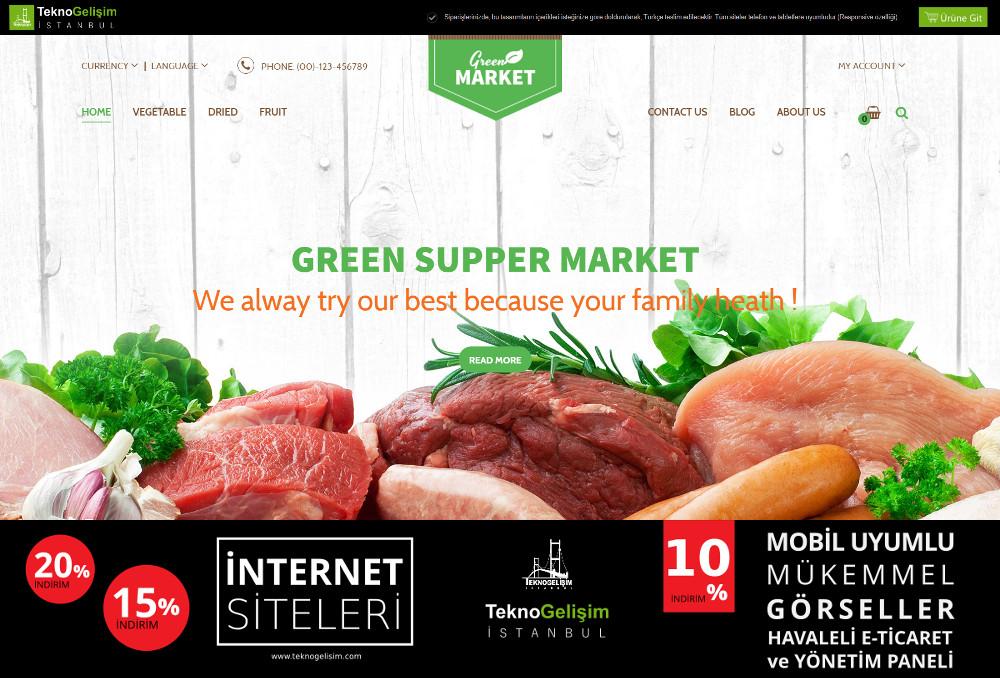E-Ticaret Sitesi Sektöre Özel Tasarım 17