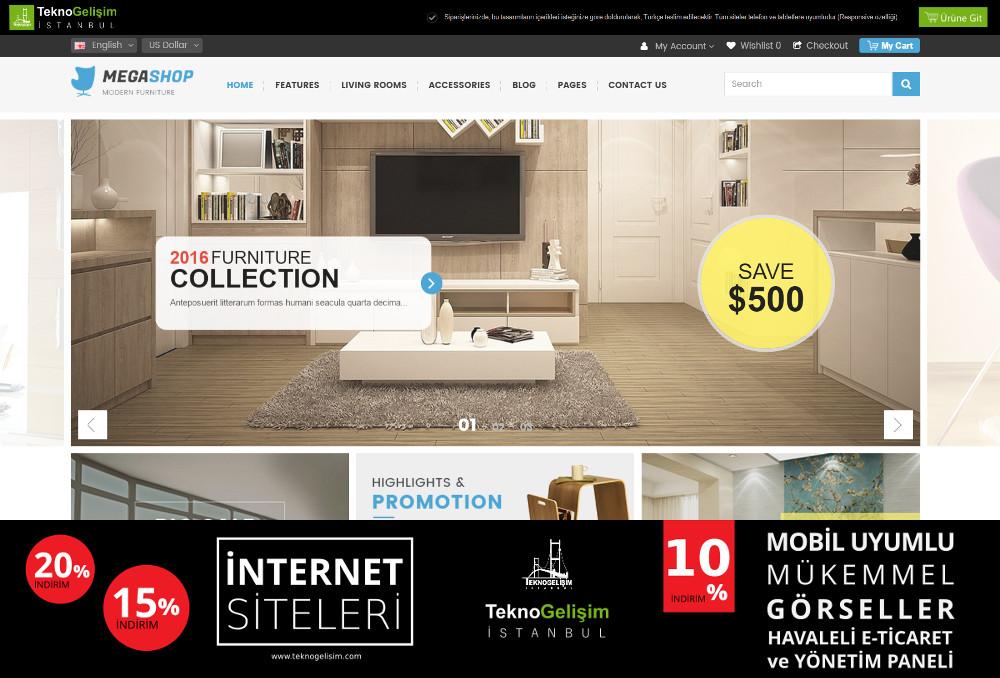 E-Ticaret Sitesi Sektöre Özel Tasarım 18