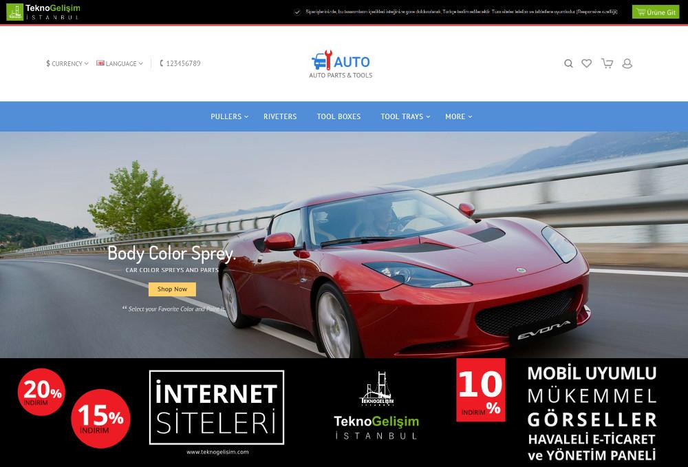 E-Ticaret Sitesi Sektöre Özel Tasarım 19