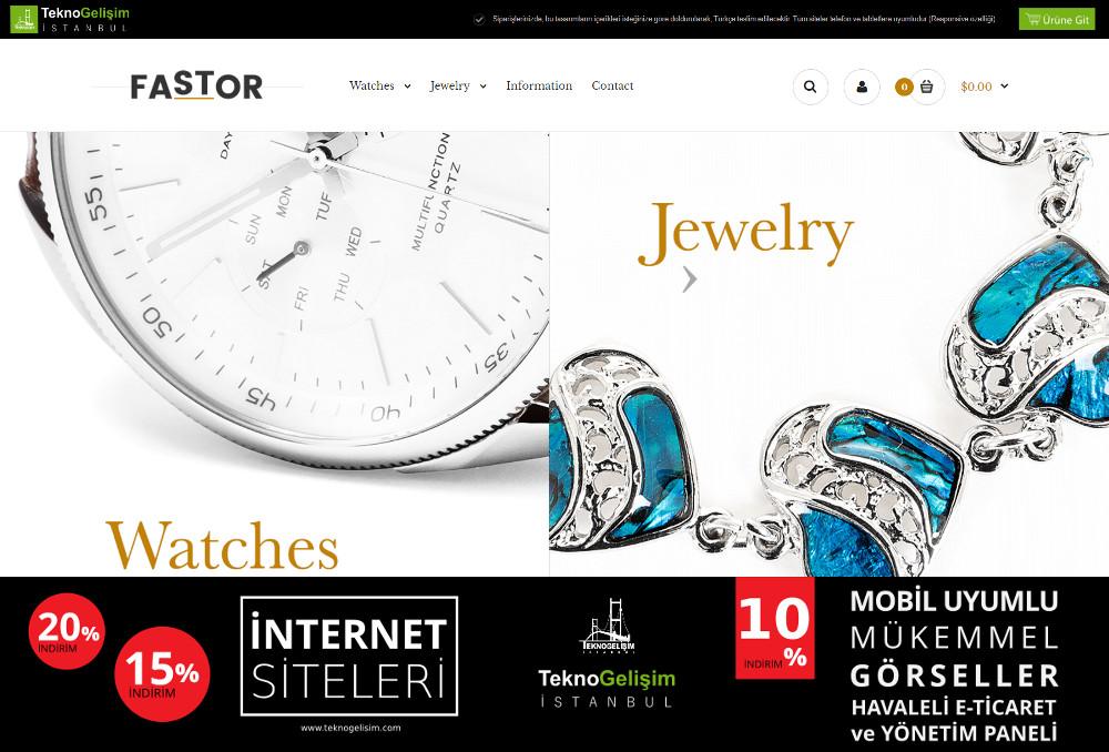 E-Ticaret Sitesi Sektöre Özel Tasarım 26