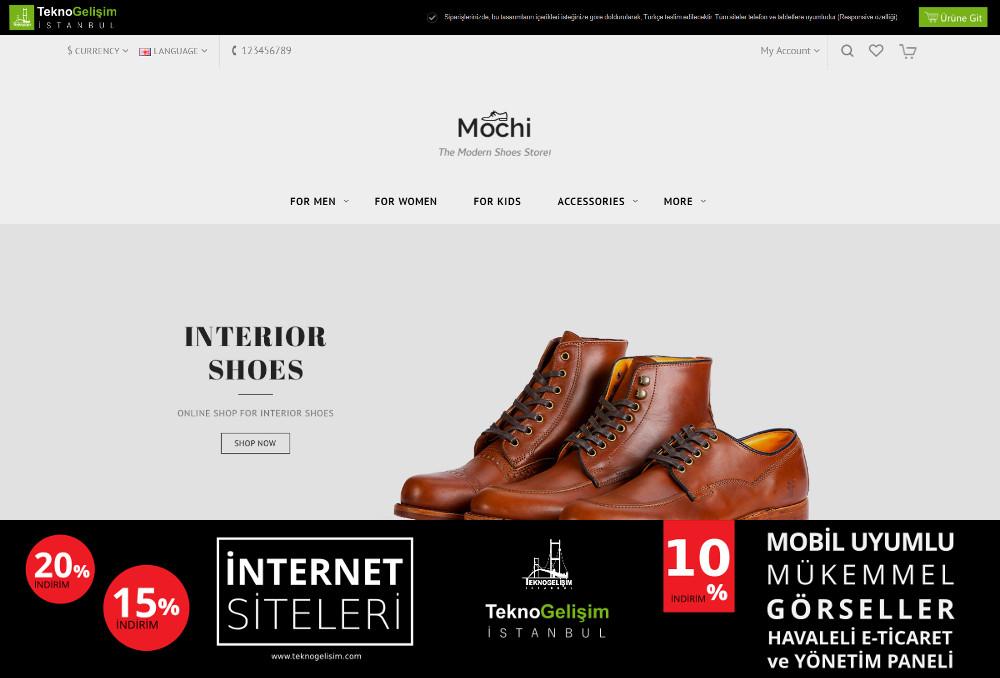 E-Ticaret Sitesi Sektöre Özel Tasarım 34